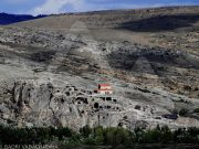 Uplistsikhe Cave Town Inter Georgia Travel